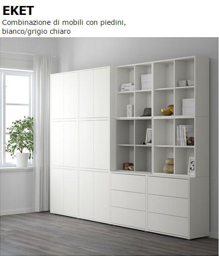 Resultado de imagen de eket ikea wohnzimmer ikea - Armarios oficina ikea ...