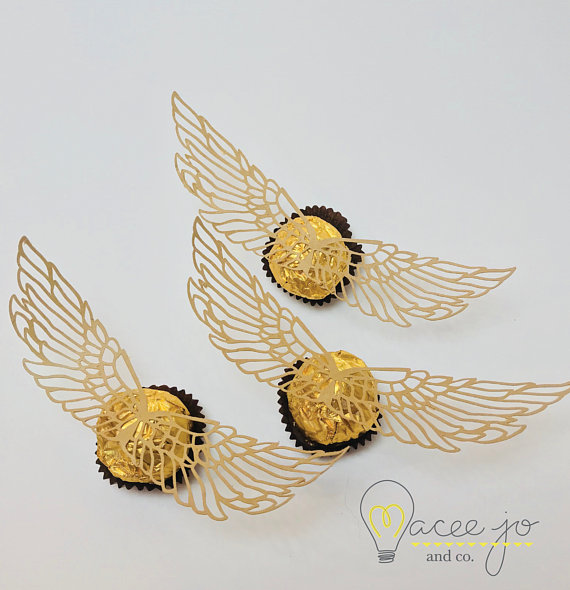 Golden Snitch Wings