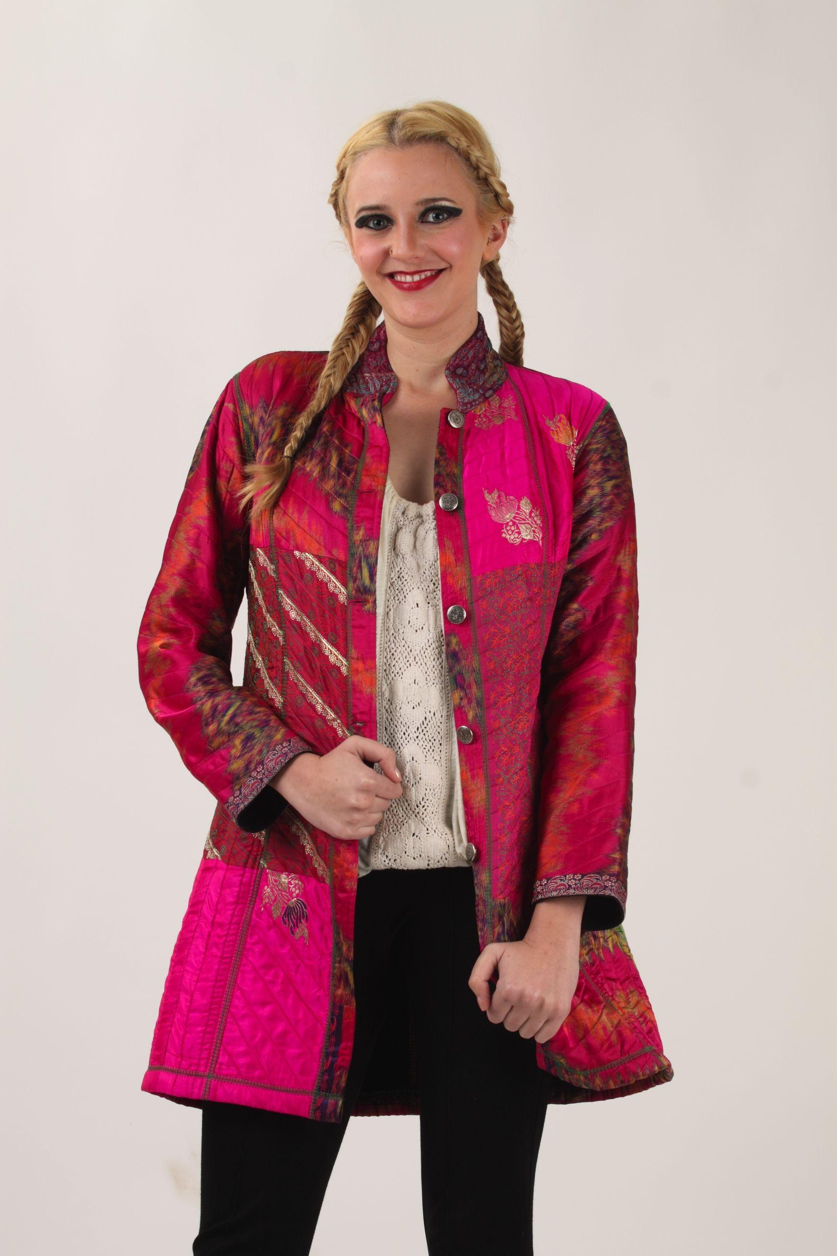 The 5 Button Saree Jacket Hand Made on Earth Saree