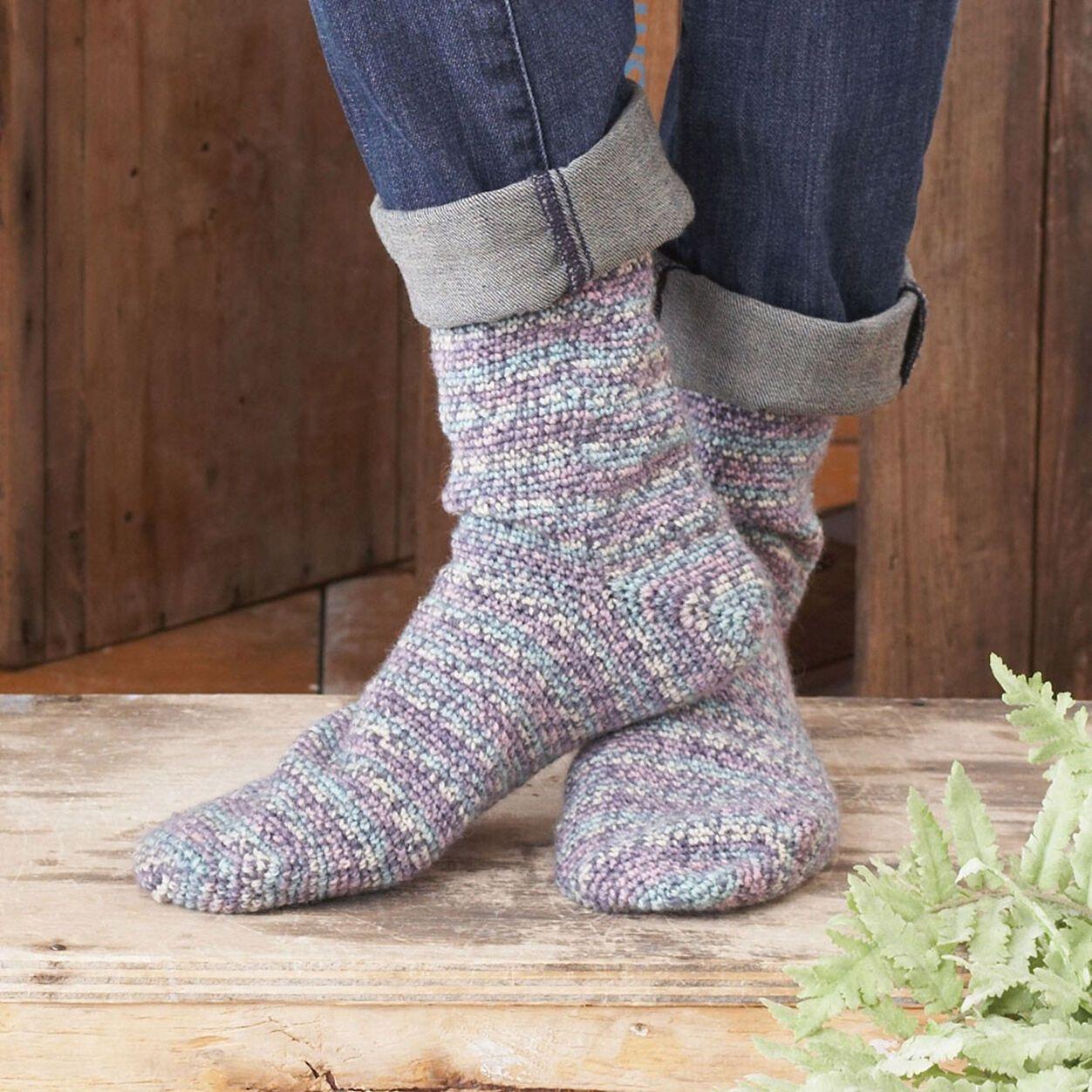Patons Toe Up Socks, Kids - Size 2-4   Yarnspirations in ...