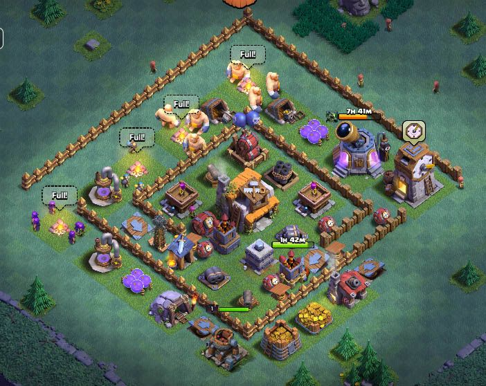 Builder Base Level 5 Layout Layout Builder Clash Of Clans