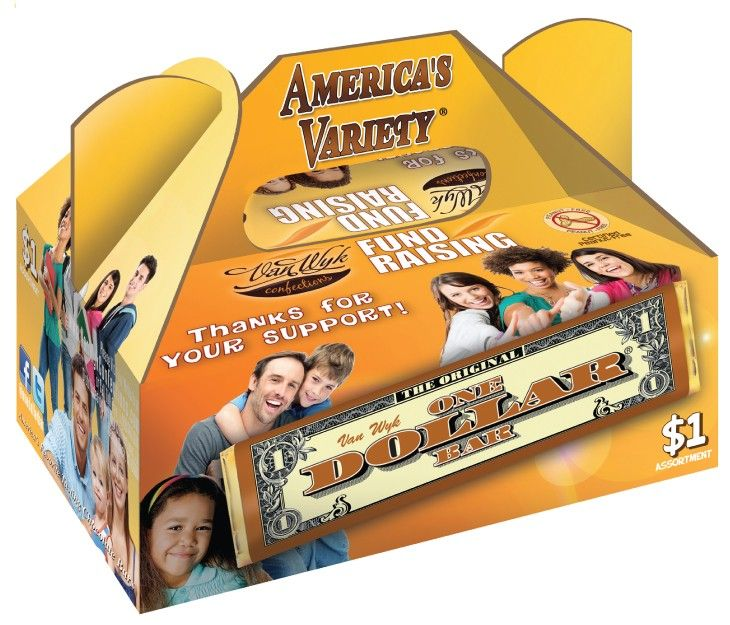 1 America S Variety Pack Candy Fundraiser Fundraising Easy Fundraisers