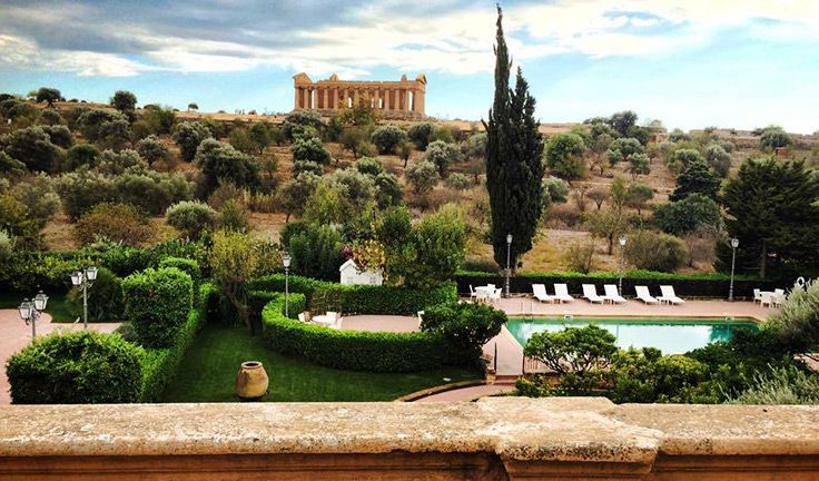 Villa Athena, just few hundred meters from the Temple of