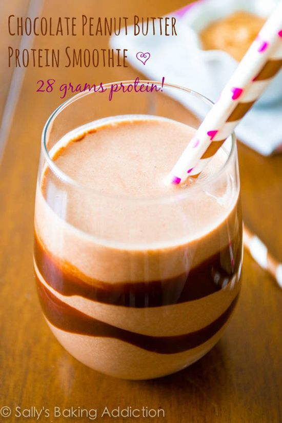 18 Natural High Protein Smoothies #vegetarian #smoothie #protein   hurrythefoodup.com