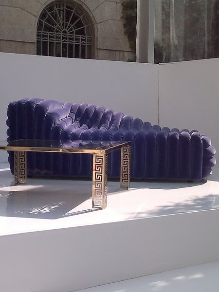Versace Bubble Sofa | sofa | Pinterest | Versace, Tables and Interiors