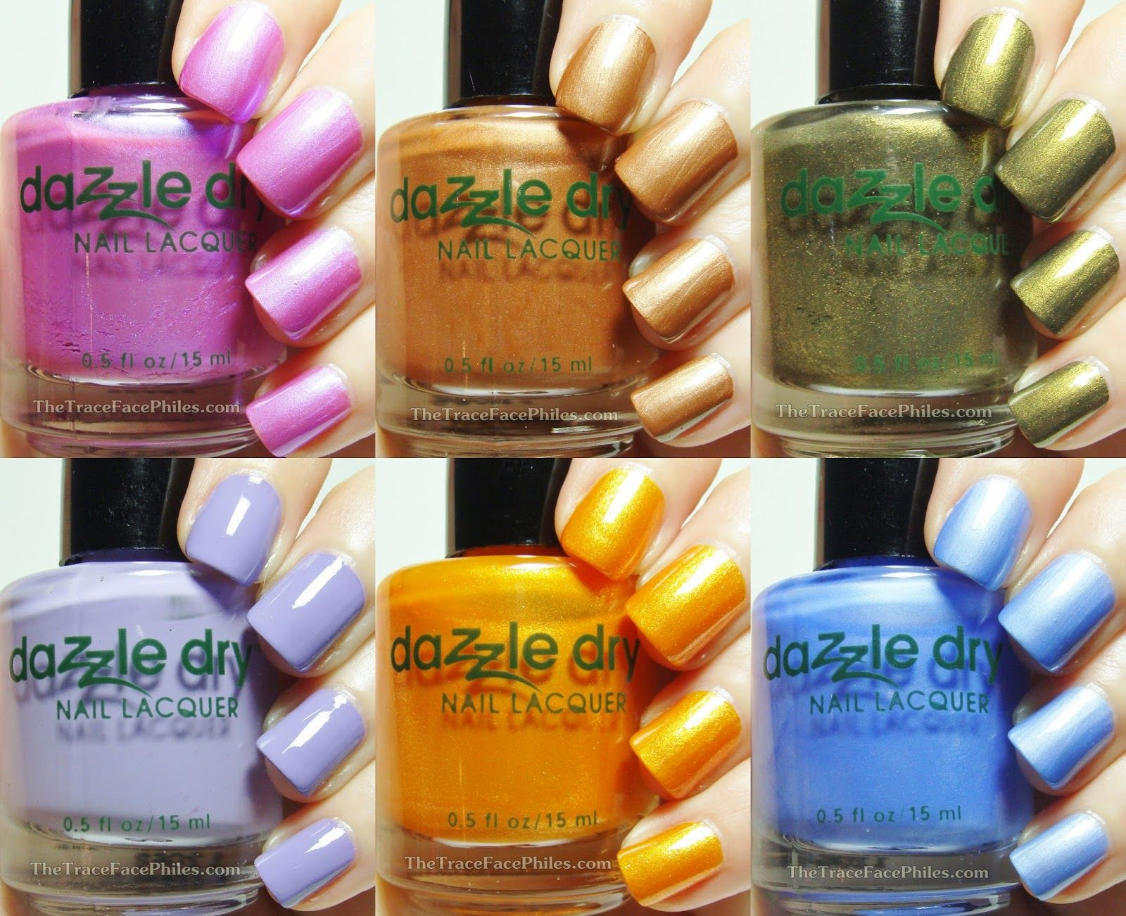 The TraceFace Philes: Dazzle Dry Summer Scape Collection! | Products ...