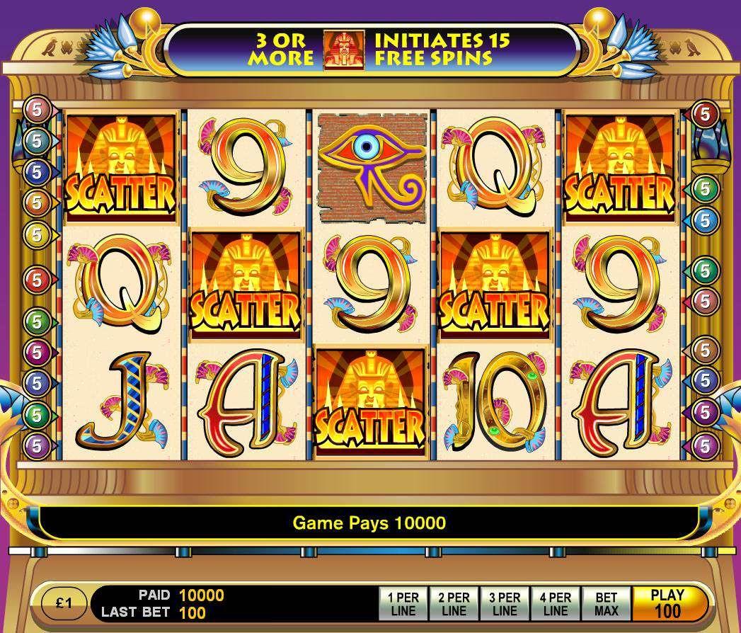 Wilde Cleopatra Slot Machine
