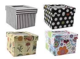 Resultado de imagen para cajas de carton decoradas ideas deco - Cajas de carton decoradas baratas ...