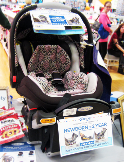 Learn All About The Newest Graco Carseat SnugRide Click Connect 40 Car Seat
