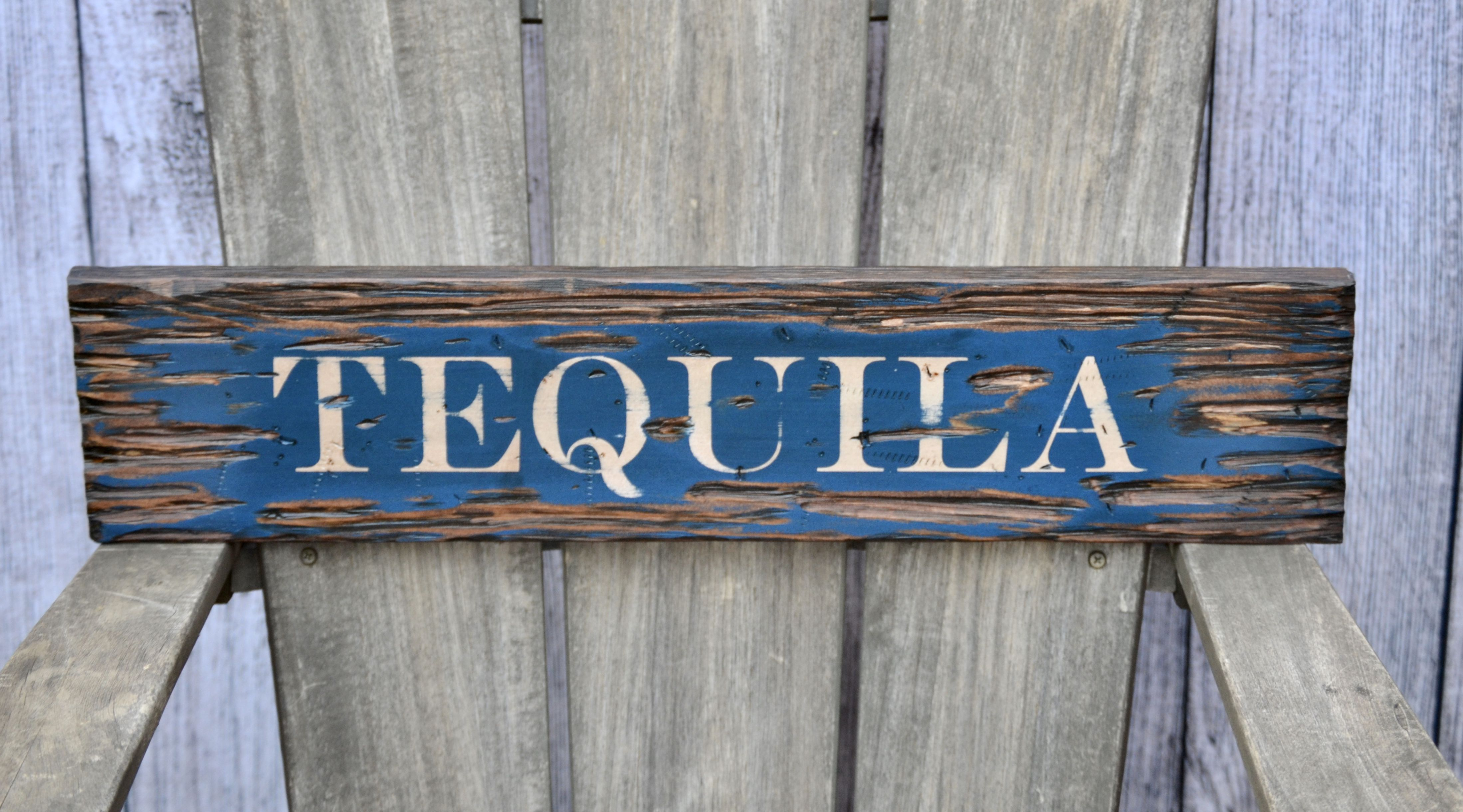 Tequila Distressed Rustic 24 Wood Sign Home Design Wall Decor Wall Art Barn Wood Signs Wood Sig Barn Wood Signs Diy Room Decor For Teens Rustic Wood Signs