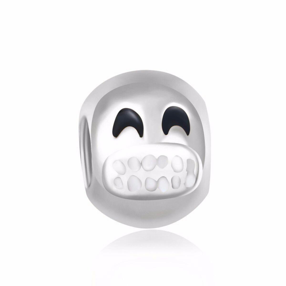 Grinning Emoji Charm