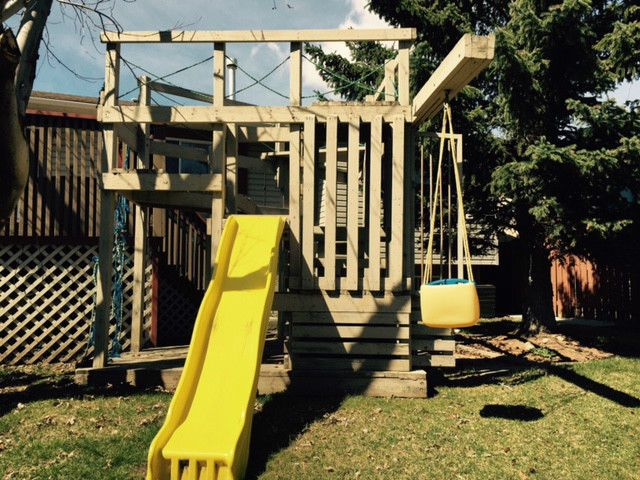 The Best Backyard Play Structure Ever Toys Games Calgary Kijiji Backyard Play Backyard Vacation