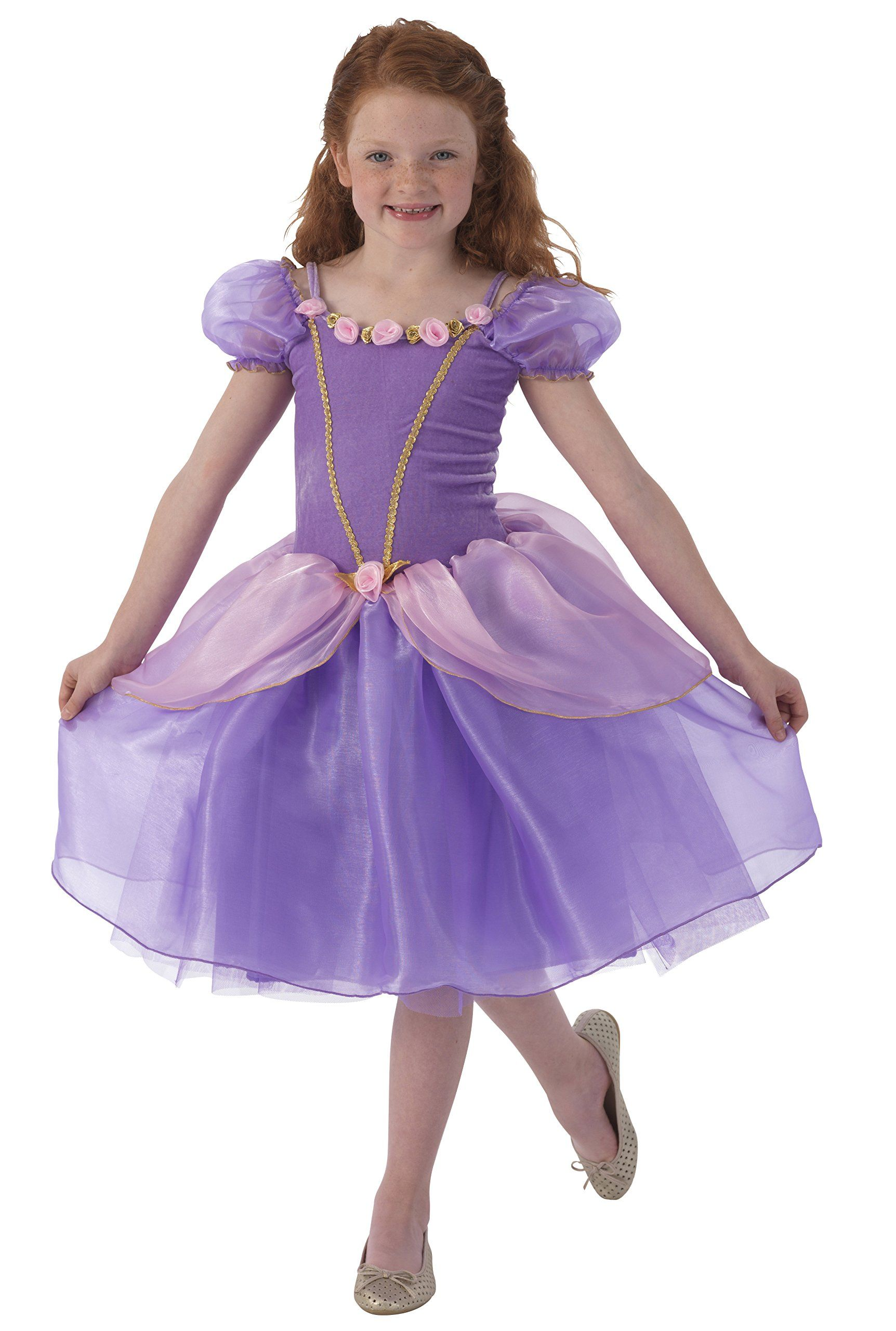 Kidkraft purple rose princess dress up costume l find