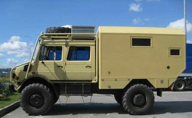 Unimog Camper Unimog Expedition Vehicle Overland Truck