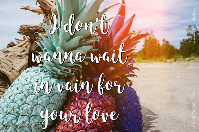 Waiting in vain for your love quotes