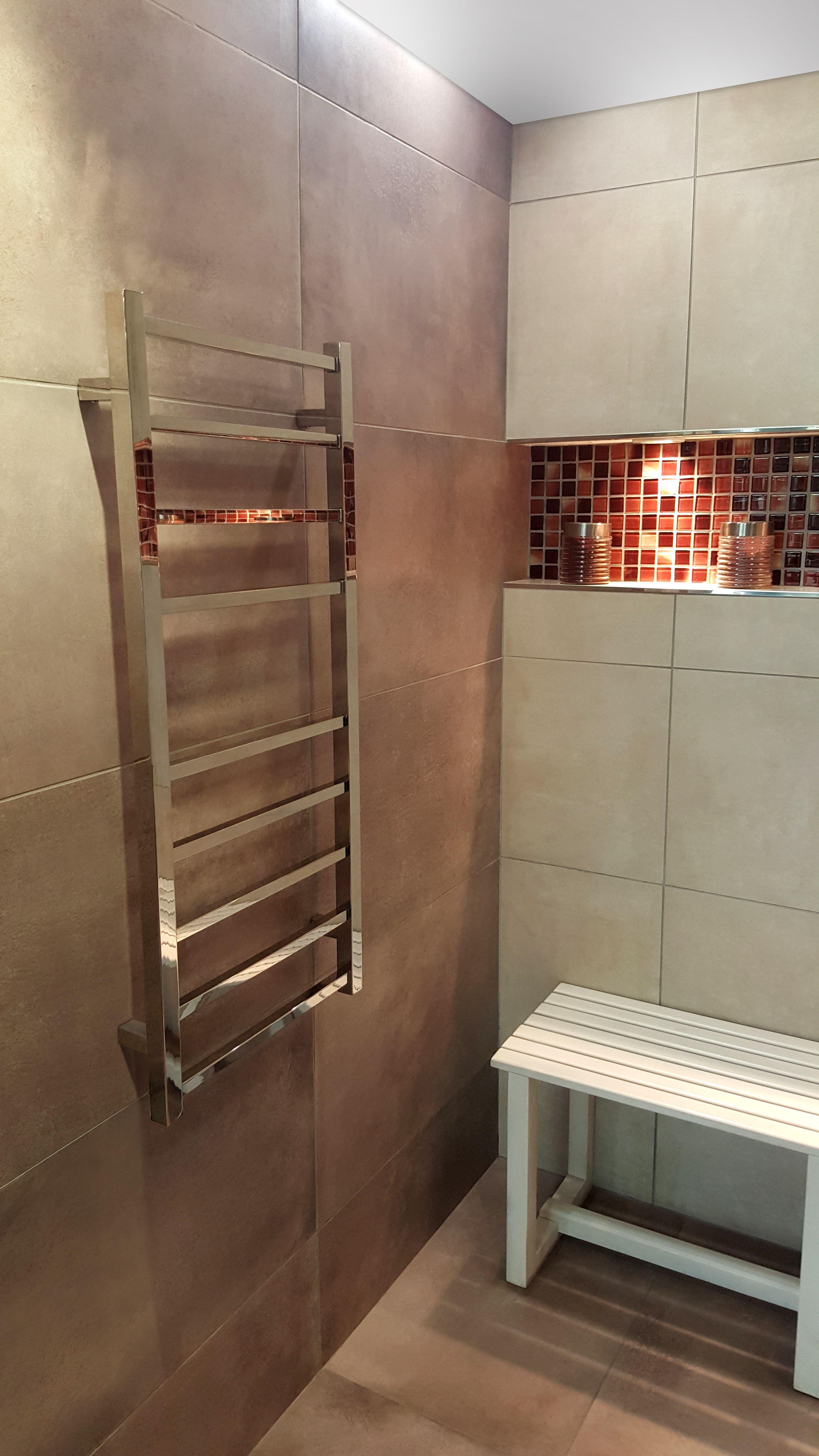 Toallero cubic dise ado en acero inoxidable confort que - Confort del bano ...