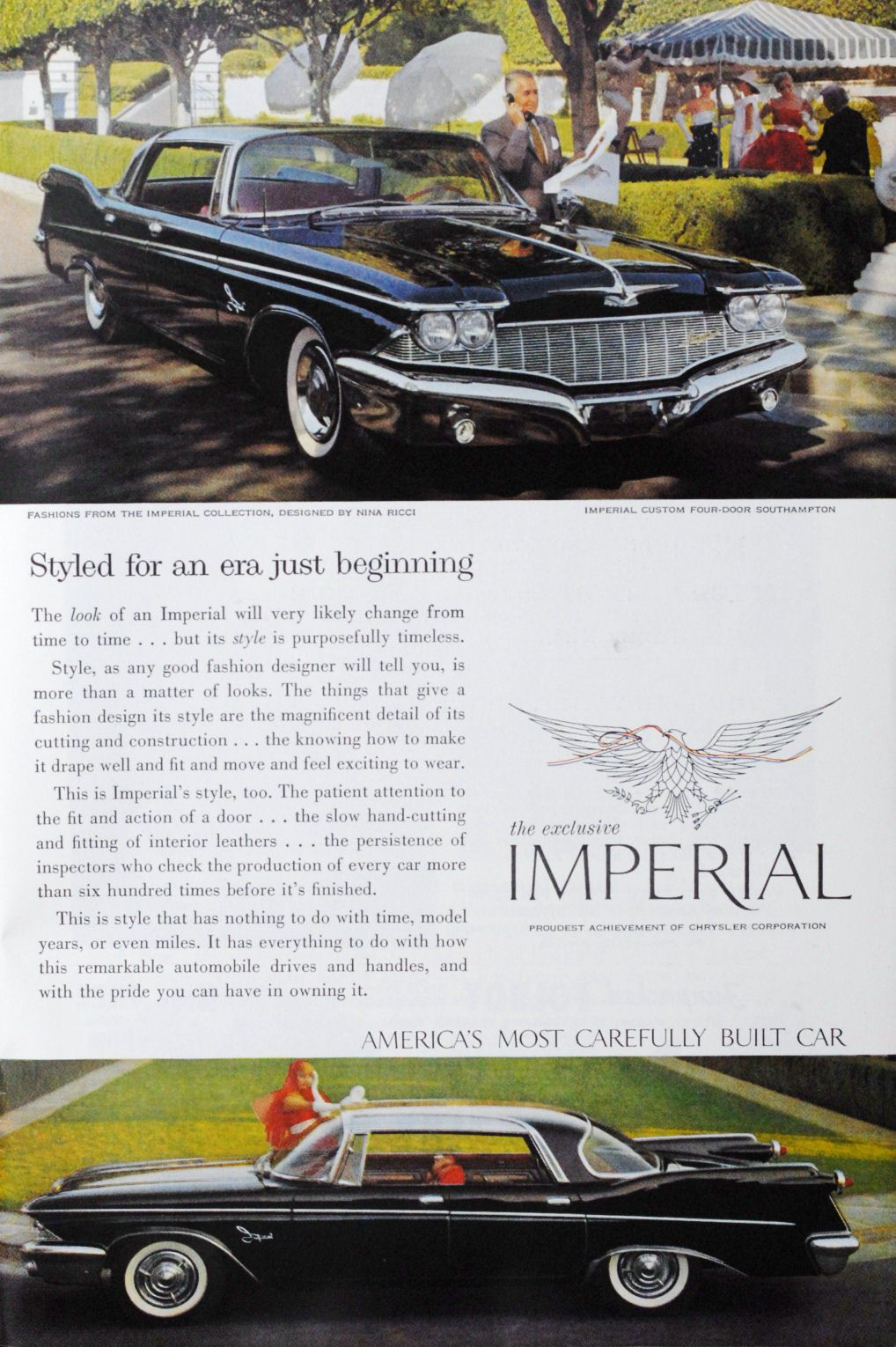 1960 Imperial Ad-11 | Virgil Exner Imperials | Pinterest | Cars ...