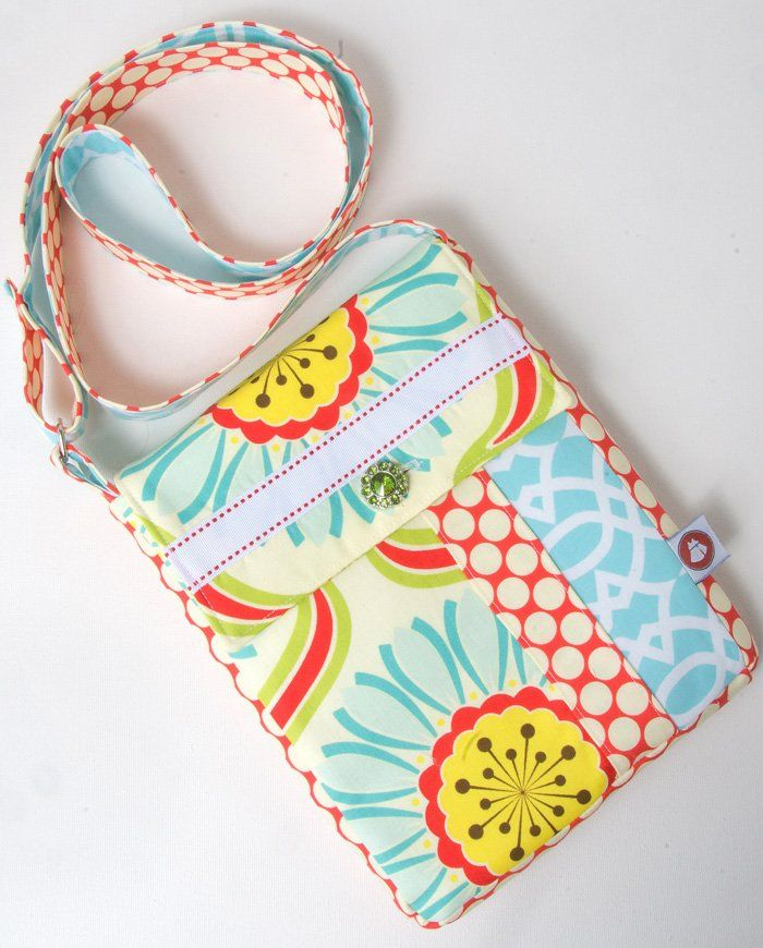 Image of June Bag, Mini Messenger Bag Sewing Pattern PDF | Bags ...