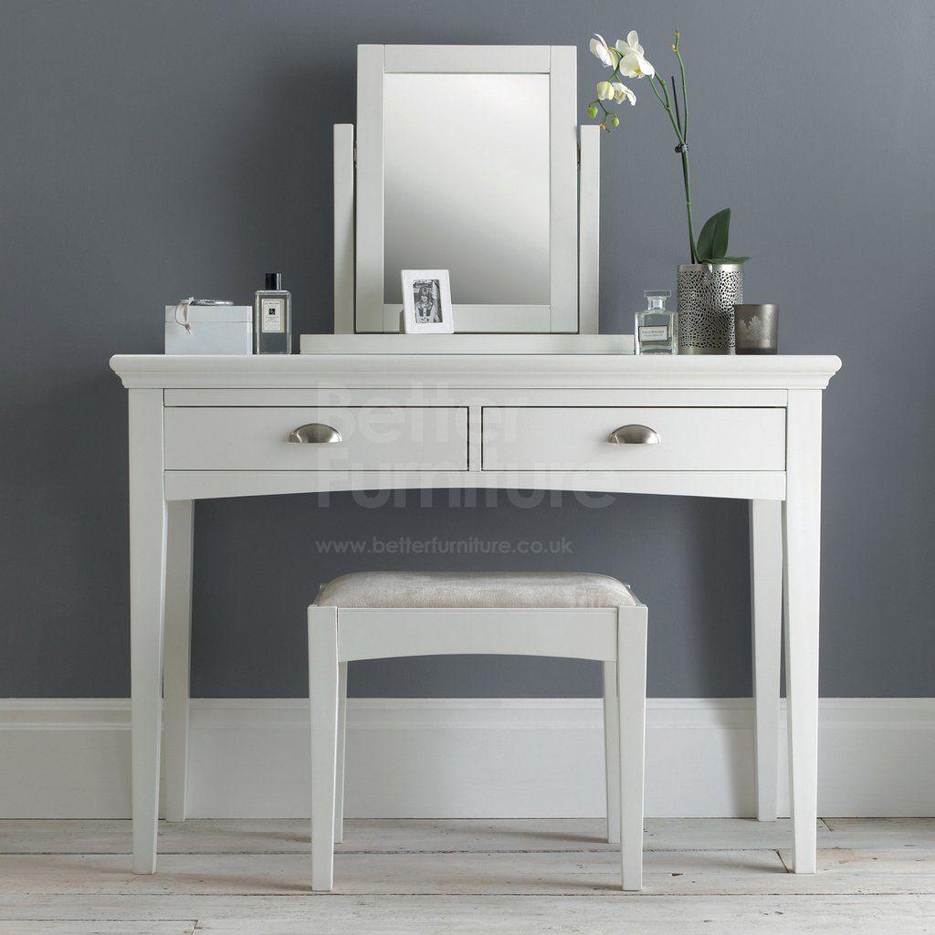 EARLHAM white bedroom furniture, Crisp white furniture with ...