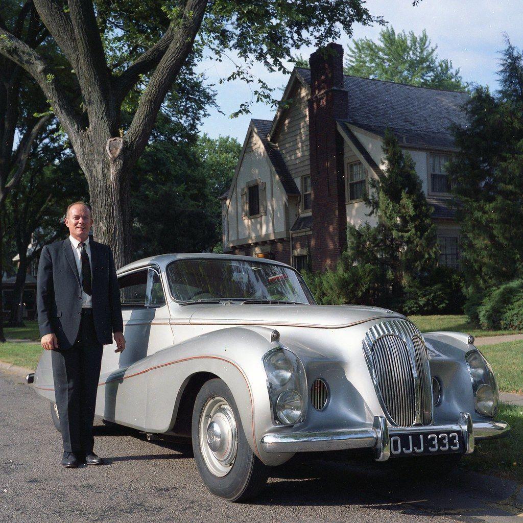 Daimler Docker Silver Flash 1953 Jaguarclassiccars With