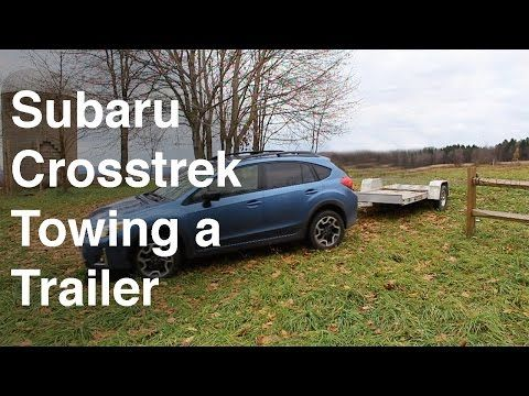 Subaru Crosstrek 2016 Towing A Trailer Amp Using The Backup Camera Youtube Subaru Crosstrek Subaru Backup Camera