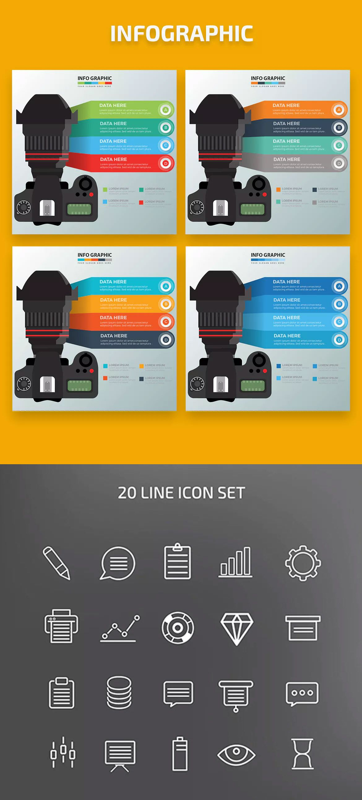 Camera Infographics by mamanamsai on Infographic, Camera