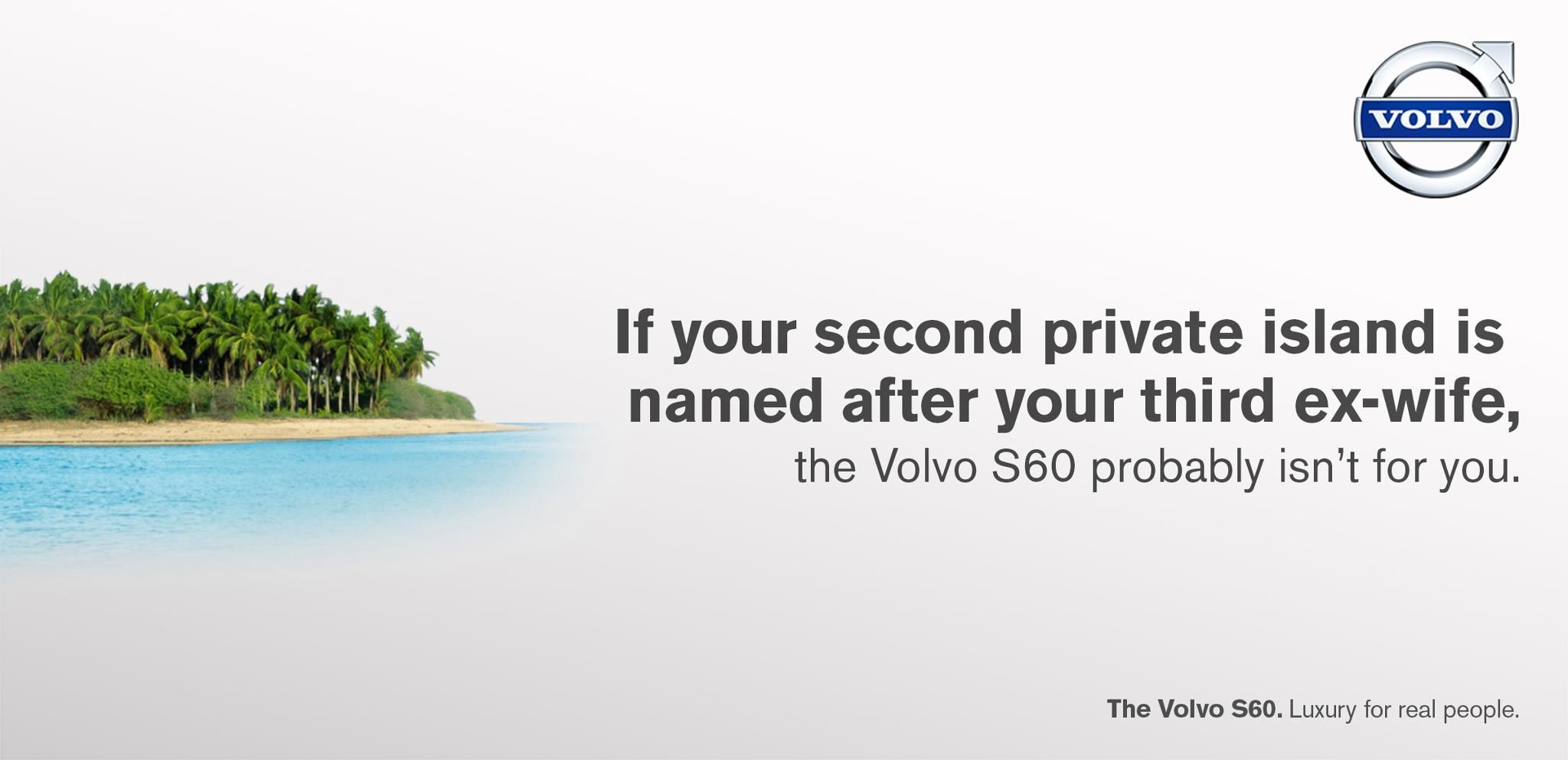 The #Volvo S60 probably isn't for you if...