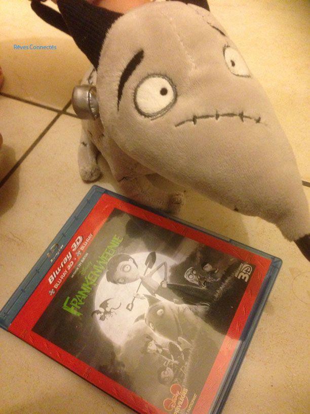 Nous avons regardé le Blu-Ray Disc du dernier Tim Burton : Frankenweenie. Test.