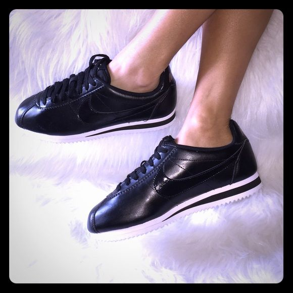 20ad5542aba NIKE CORTEZ PATENT BLACK ROSE GOLD WMNS SZ 7 NO TRADES!USE OFFER ...