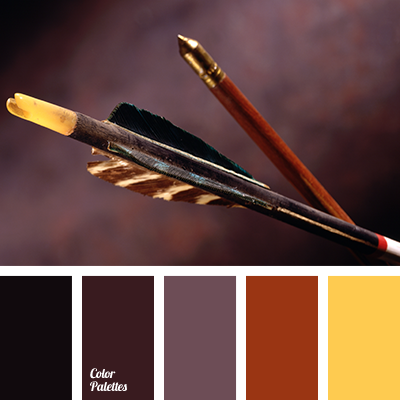 Black And Yellow Brick Red Brown Burgundy Color Combination Of Colors Wine Wood Dark Cherry
