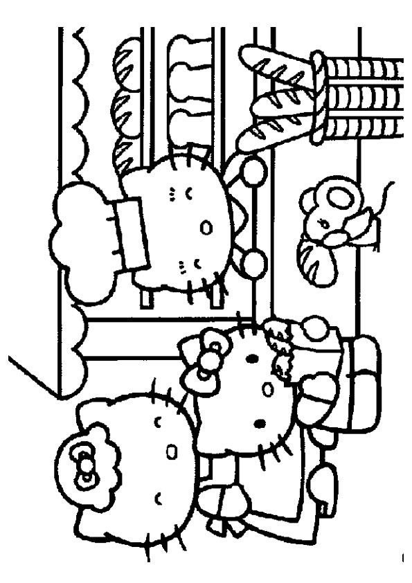 Print Coloring Image Momjunction Hello Kitty Colouring Pages Hello Kitty Coloring Kitty Coloring
