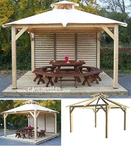 pergola bois et tonnelle bois pergola en bois et tonnelle en bois tonnelles pergola bois et. Black Bedroom Furniture Sets. Home Design Ideas