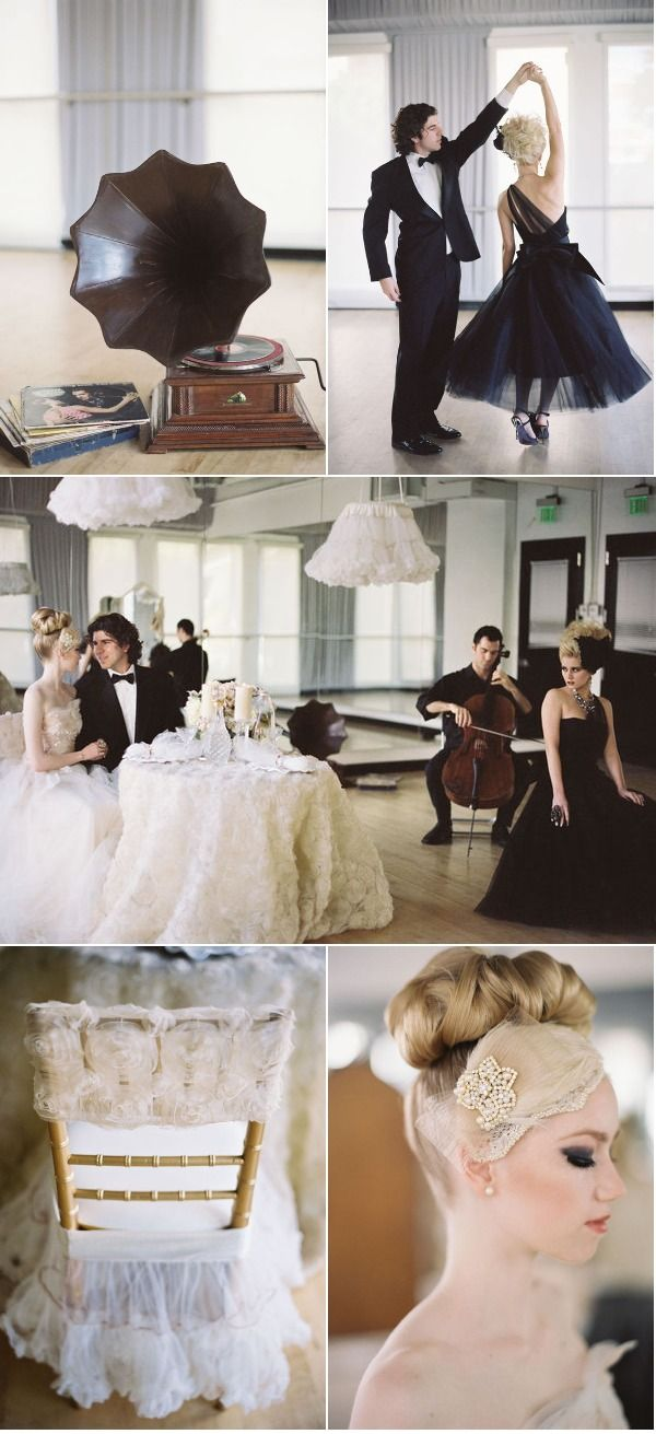 Ballet-inspired wedding shoot {Jill La Fleur | Jessica Claire} via Style Me Pretty