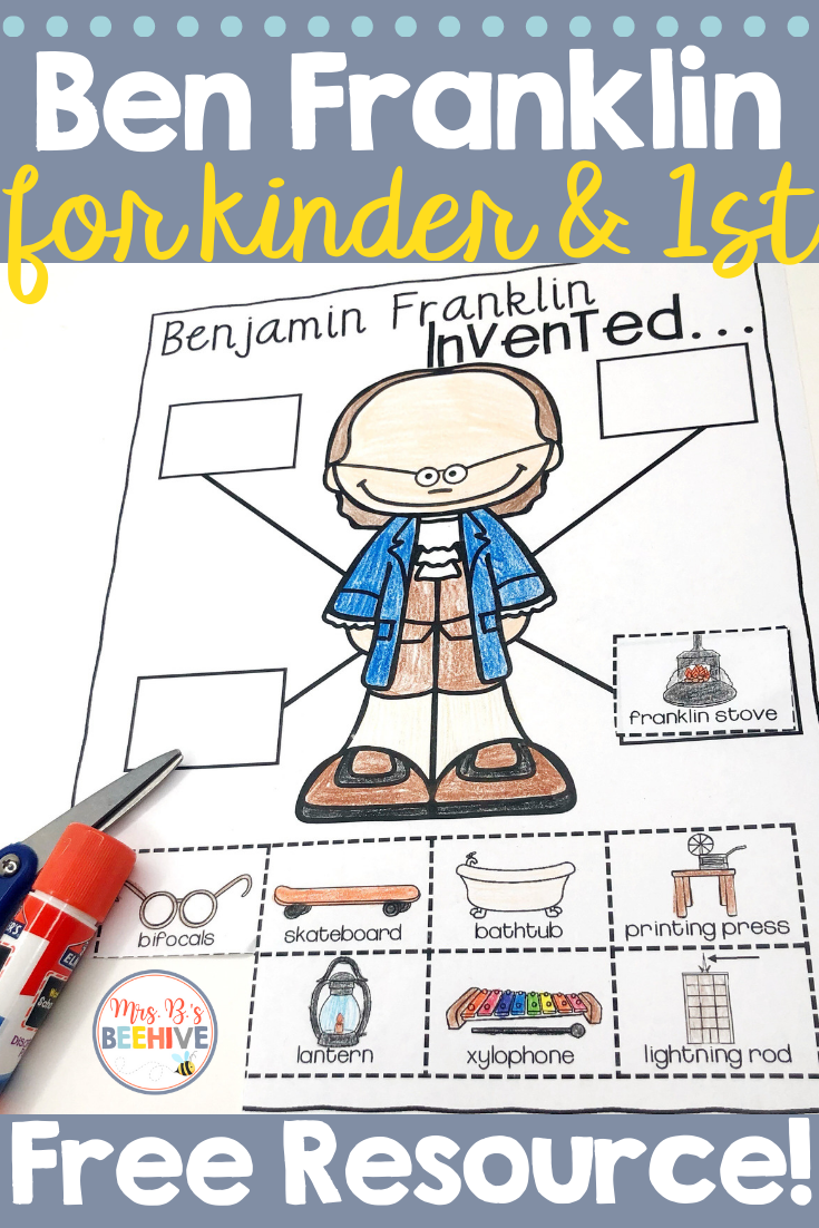 Help Your Students To Learn About Benjamin Franklin And His Many Wonderful Invention Kindergarten Social Studies Benjamin Franklin Activities Benjamin Franklin [ 1102 x 735 Pixel ]