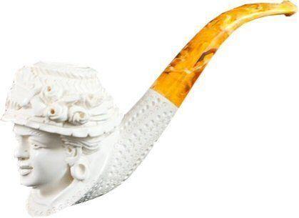 Deluxe African American Lady Meerschaum Pipe by Royal Meerschaum Pipes. $139.14. Deluxe African American  sc 1 st  Pinterest & Deluxe African American Lady Meerschaum Pipe by Royal Meerschaum ...