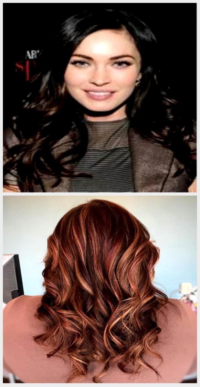 Hair Color Ideas For Brunette Auburn Low Lights 35 Ideas For 2019 # design #mo#d…