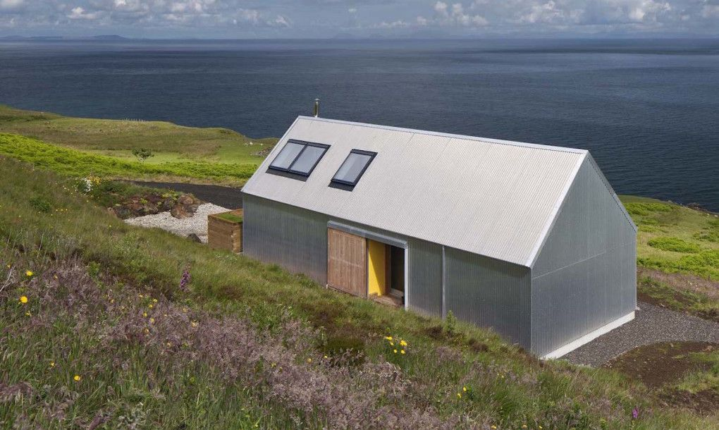 Self built Tinhouse is a contemporary take on