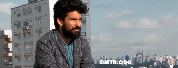 O designer Dimitre Lima e sua arte tecnológica