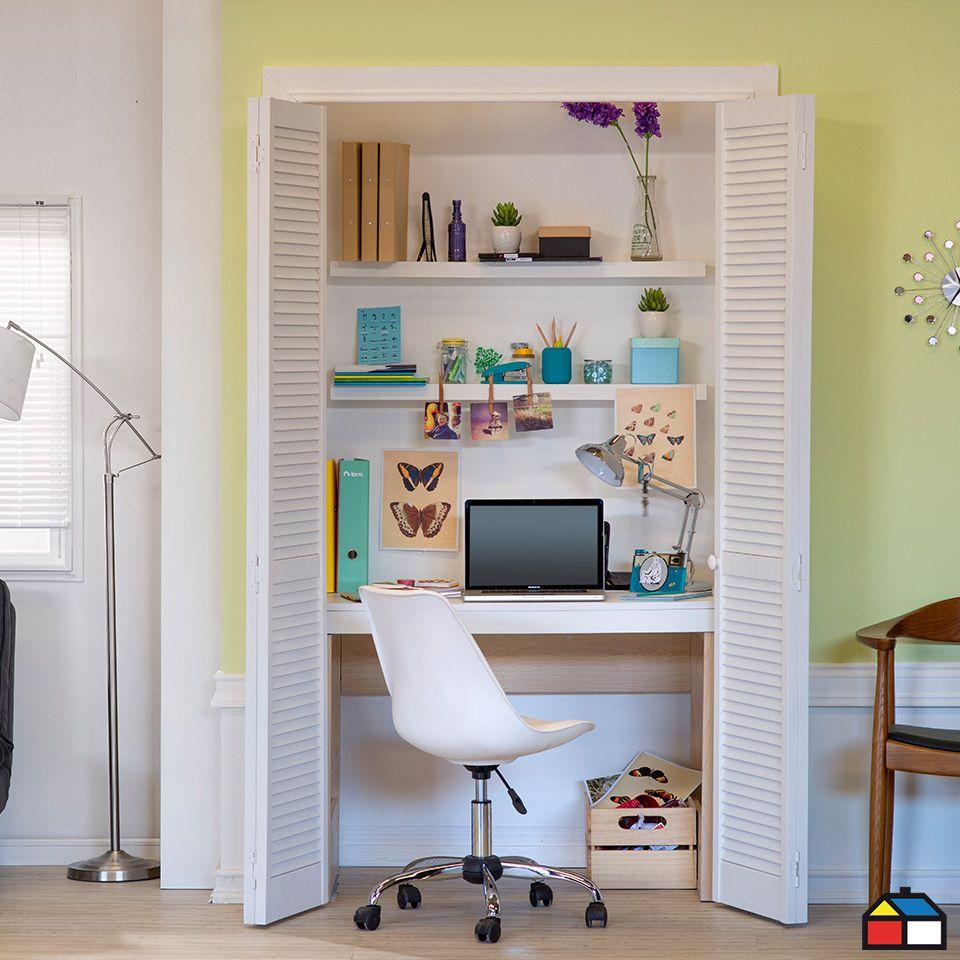 Closet escritorio! #Mueble #Escritorio #HomeOffice | Proyectos que ...