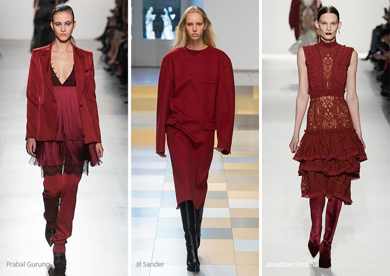 Fall winter 2017 2018 color trends winter 2017 fall for 2018 winter colors