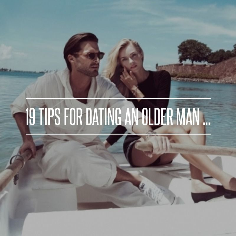 tips on dating an older man