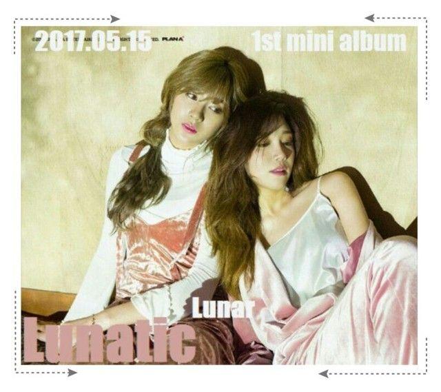 """Lunar (루나) 1st mini album 'Lunatic' Teaser no. 4"" by lunar-official ❤ liked on Polyvore"