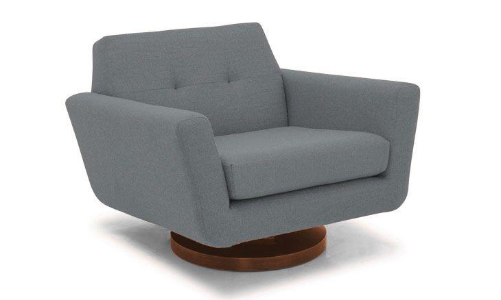 Hughes Swivel Chair Swivel Chair Chair Leather Chair With Ottoman