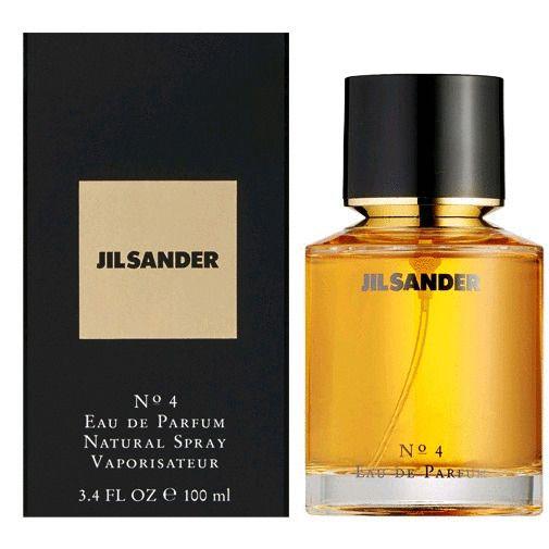 Jil Sander 4 By Jil Sander 3 4 Oz Edp Spray Perfume For Women Sealed Nib Jilsander Perfume Spray Perfume Perfume Bottles