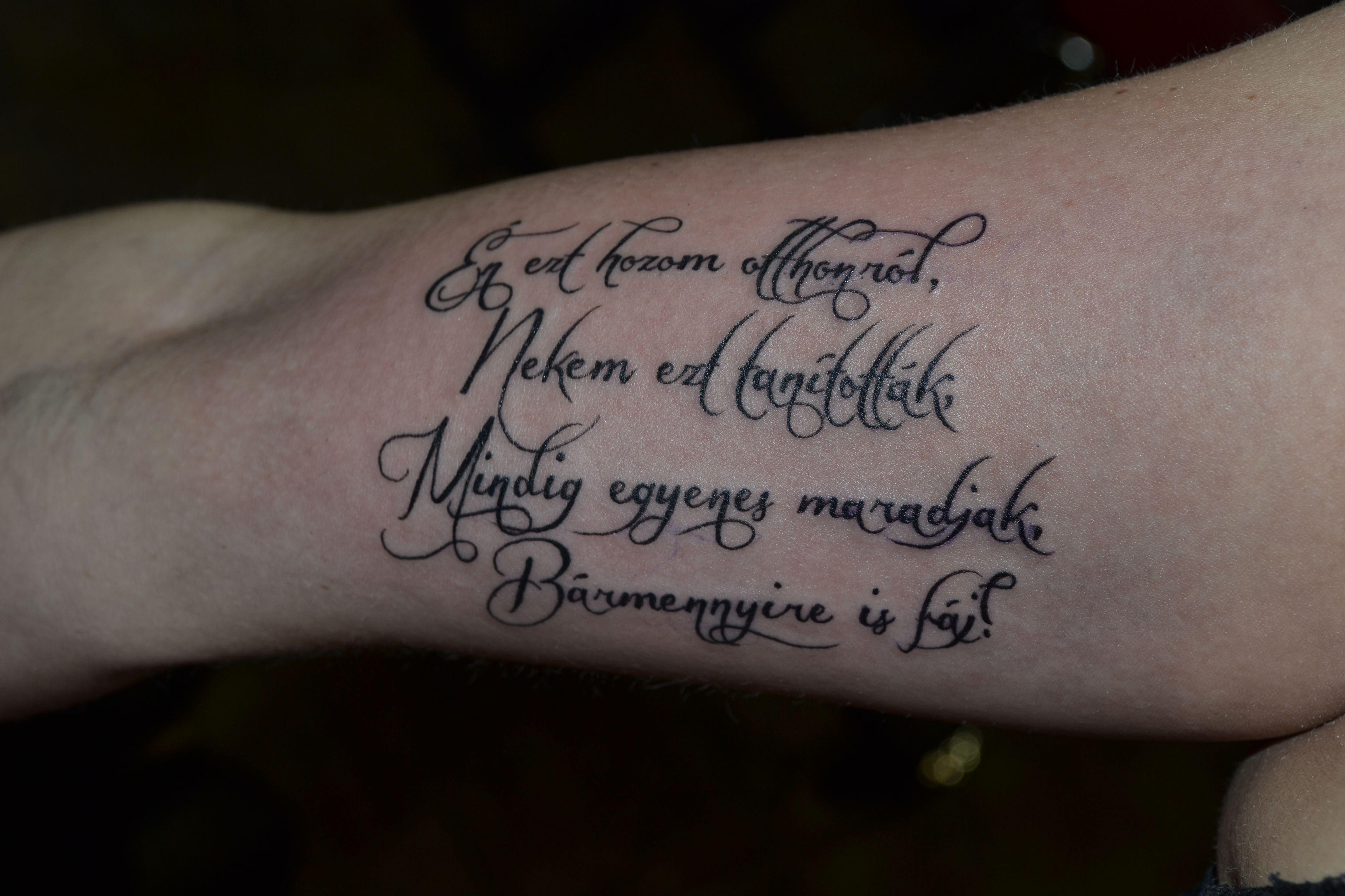 tetoválás szövegek idézetek westend_tattoo #westendtattooandpiercing #tattoo #arm tattoo #text