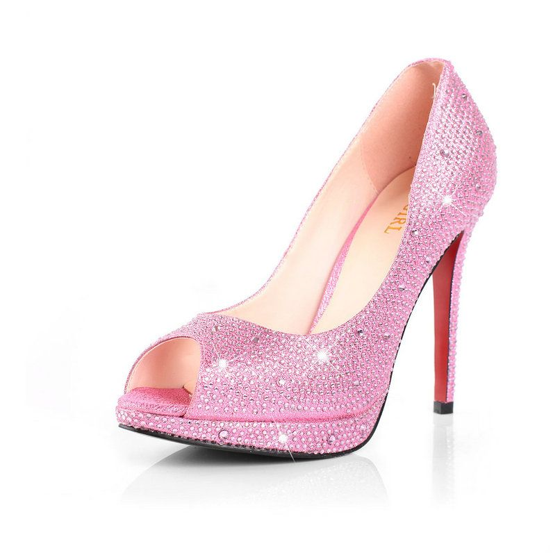 quinceanera shoes | Quinceanera Shoes Heels Hot Pink Prom shoes ...