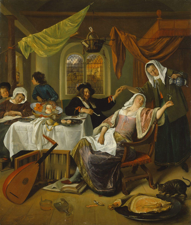 The Dissolute Household | Art paintings | European paintings