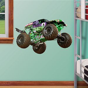 Grave Digger Fathead Jr Fathead Wall Decal Monster Trucks