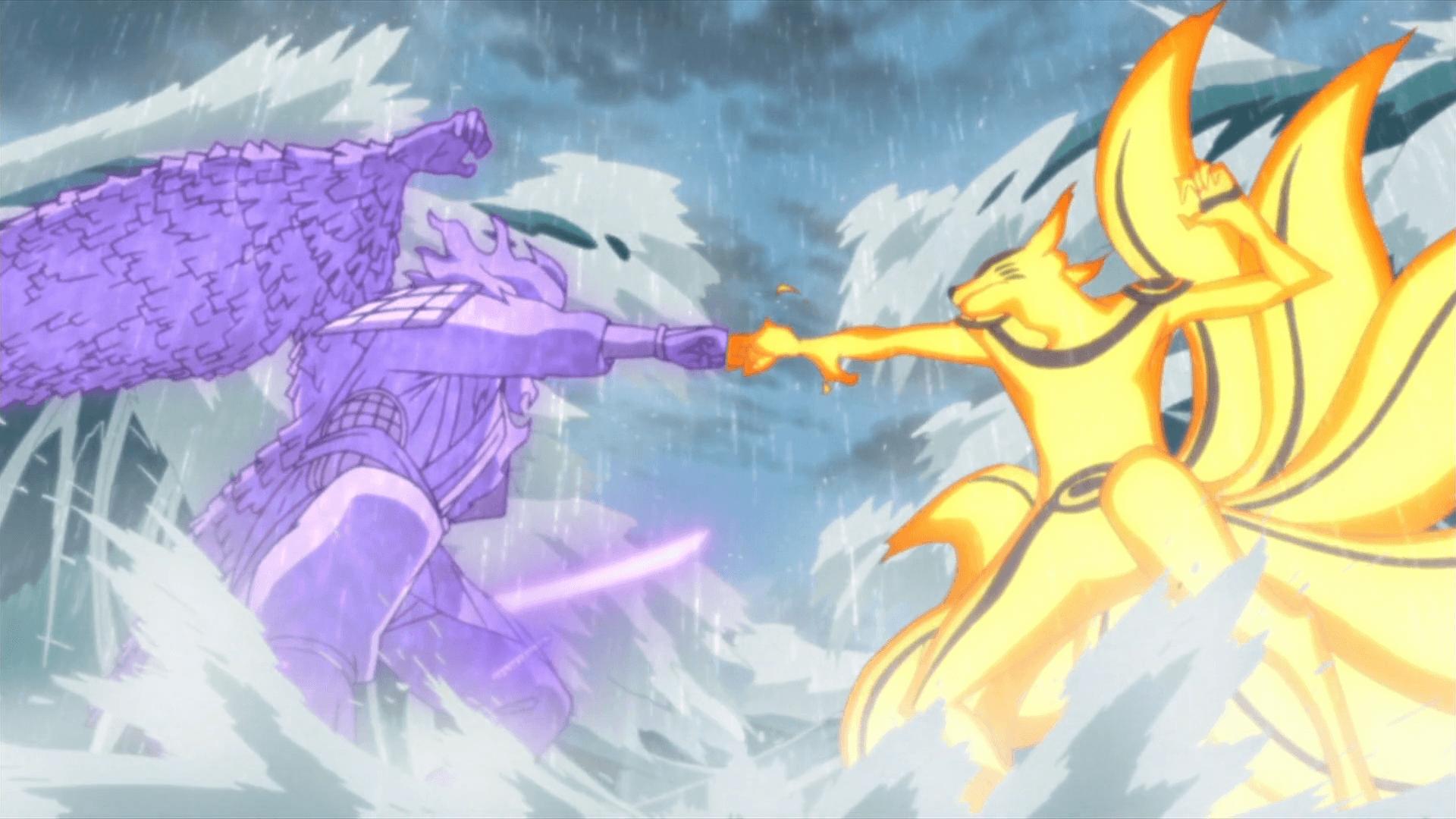 Wallpaper Naruto Vs Sasuke Final Battle Com Imagens Naruto Vs