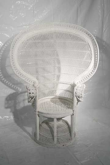 Big White Chair For Baby Shower : white, chair, shower, Smiles, Party, Rentals,, CHAIRS, TABLES, White, Wicker, Chair,, Chairs,